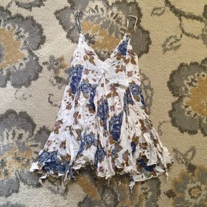 Free People Floral Slip